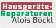Alois Böckl Haushaltsgeräte-Reparaturen, Landshut